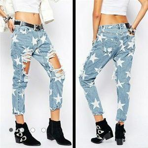 One Teaspoon Le Punk star jeans